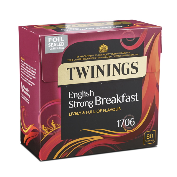 černý čaj ENGLISH STRONG BREAKFAST (80 sáčků /250g)